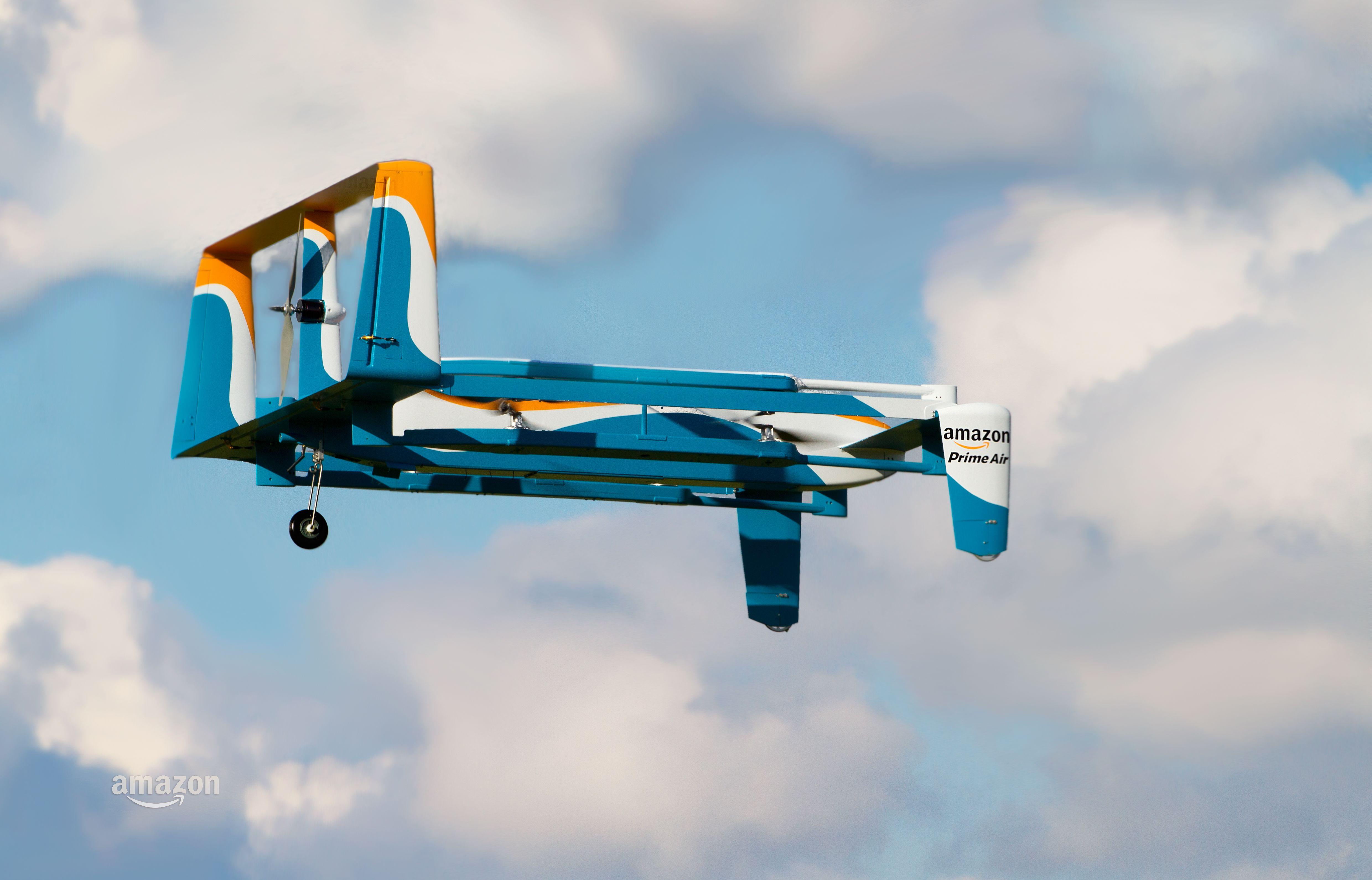 Drone'lu Hava Kargosu